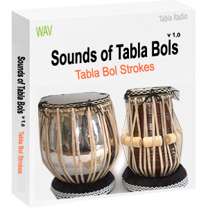 Sounds of Tabla Bols (Tabla Hits and Strokes in WAV format)
