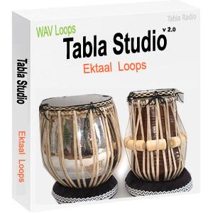 Tabla Loops for Ektaal