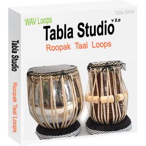 Tabla Loops for Roopak Taal