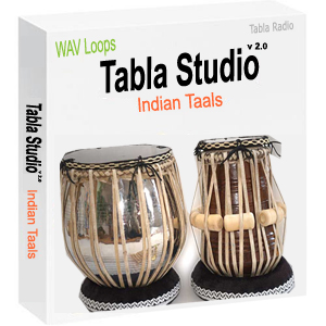 Tabla Loops for Indian Classical Taals